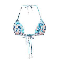 Silk Market Slide Tri Bikini Top