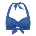 Twist Halter-Neck Bikini Top, ${color}