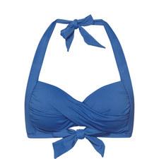 Twist Halter-Neck Bikini Top