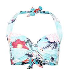 Modern Love Halter-Neck Bikini Top