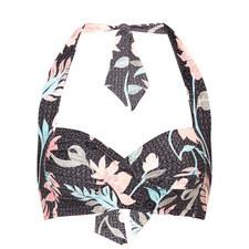 Bali Hai Twist Halter-Neck Bikini Top