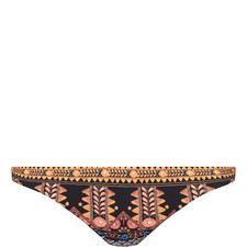Patterned Hipster Bikini Bottoms