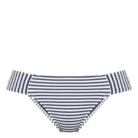 Riviera Stripe Bikini Bottoms, ${color}