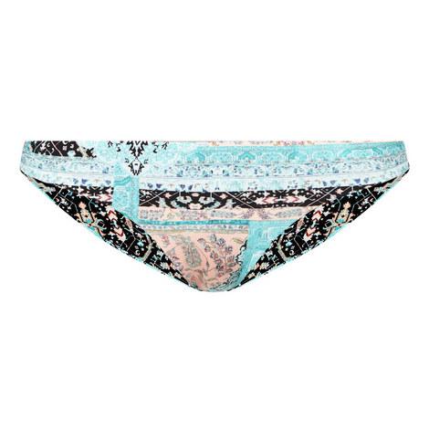 Moroccan Moon Hipster Bikini Bottoms, ${color}