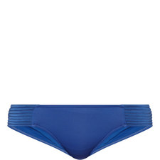 Quilted Hipster Bikini Bottoms
