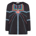 Geometric Embroidered Top, ${color}