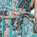 Moroccan Moon Wrap Dress, ${color}
