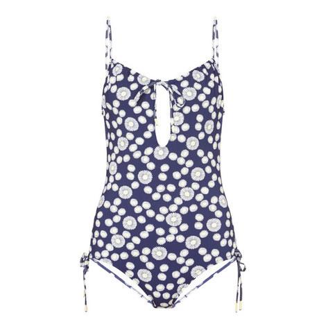 Daisy Print Swimsuit, ${color}
