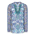 Iris Inkblot Silk Tunic, ${color}