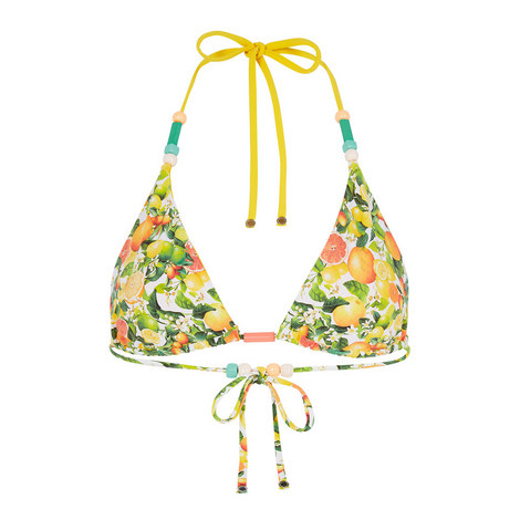 Citrus Triangle Bikini Top, ${color}