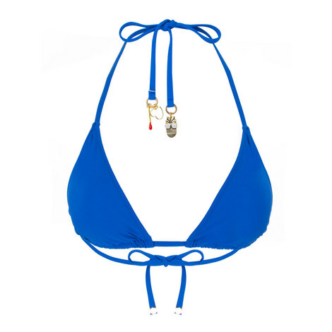 Triangle Charm Bikini Top, ${color}