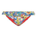 Iconic Flower Print Bikini Bottoms, ${color}