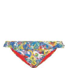 Iconic Flower Print Bikini Bottoms