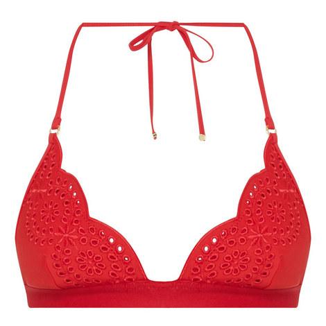 Broderie Anglaise Bikini Top, ${color}