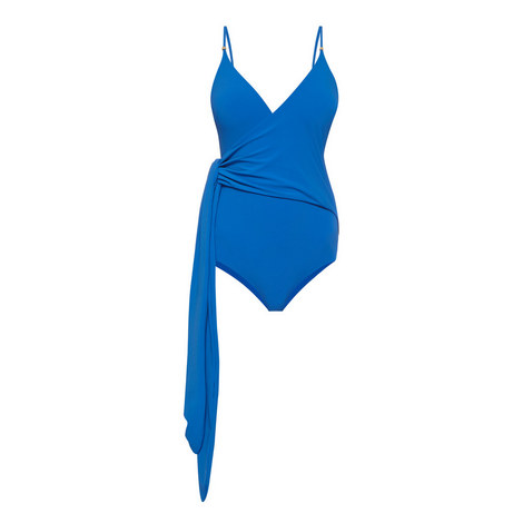 Timeless Wrap Swimsuit, ${color}