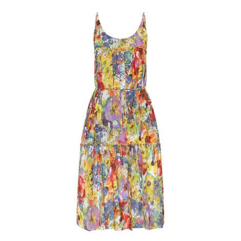 Iconic Prints Floral Dress, ${color}