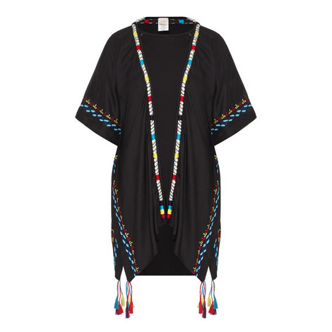 Beach Blanket Embroidered Tunic, ${color}