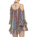 Beach Blanket Cold Shoulder Dress, ${color}