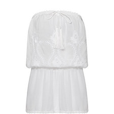 Fruley Embroidered Detail Dress