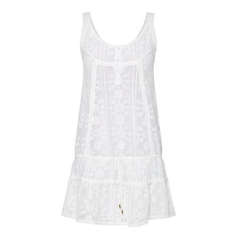 Jas Embroidered Short Dress, ${color}