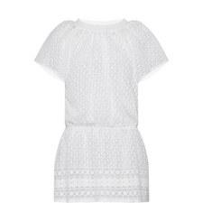 Michelle Embroidered Mini Dress