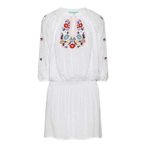 Nadja Embroidered Detail Dress, ${color}