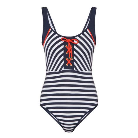 Panama Stripe Swimsuit, ${color}