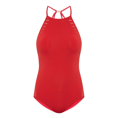 High Neck Swimsuit, ${color}