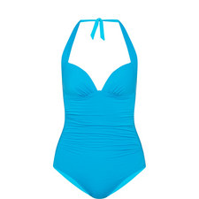 Jet Set Halter-Neck Swimsuit