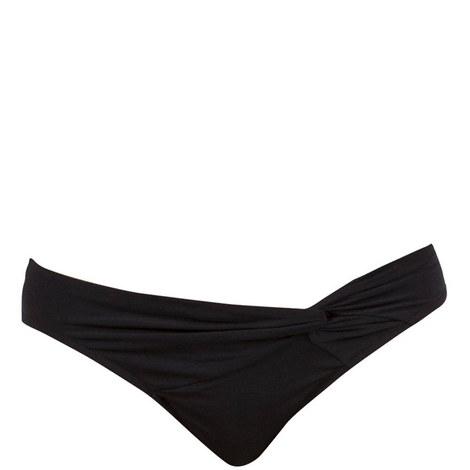 Illuminate Twist Front Bikini Bottoms, ${color}