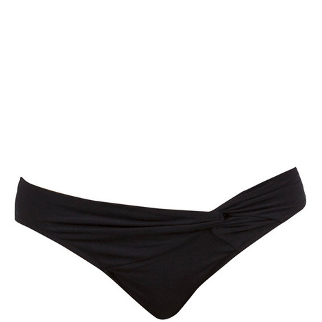 Illuminate Twist Front Bikini Bottoms, ${color}