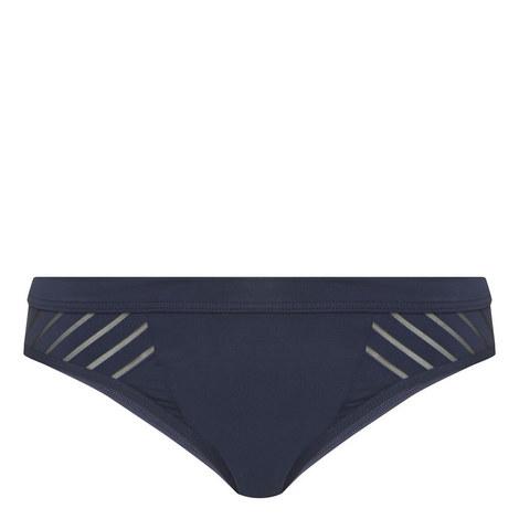 Parallels Stripe Bikini Bottoms, ${color}