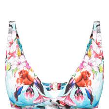 Floral Underwire Bikini Top