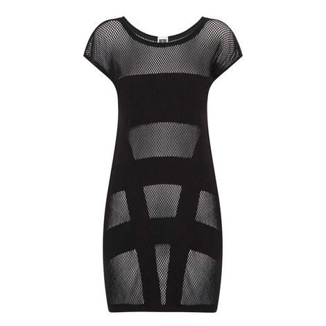 Parallels Mesh Dress, ${color}