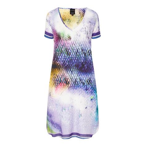 Printed Silk Tunic, ${color}