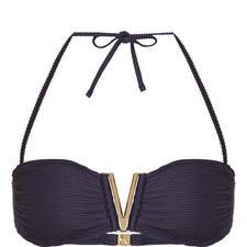 Hamptons V-Bar Bandeau Bikini Top