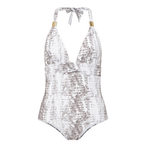Alhambra Snake Print Swimsuit, ${color}