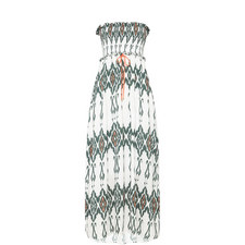 Polynesia Smocked Bandeau Maxi Dress