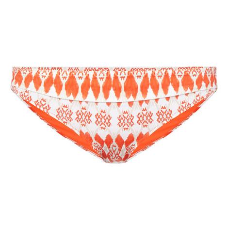 Punta del Este Foldover Bikini Bottoms, ${color}