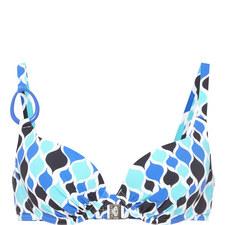 Ankara Printed Bikini Top