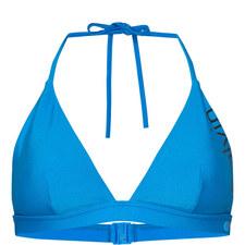 Triangle Logo Bikini Top