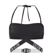 X Bandeau Bikini Top