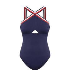 Cross Strap Swimsuit