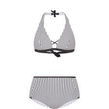 Brigitte Nautical Stripe Bikini