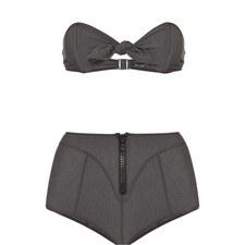 Poppy High Waist Bikini Set