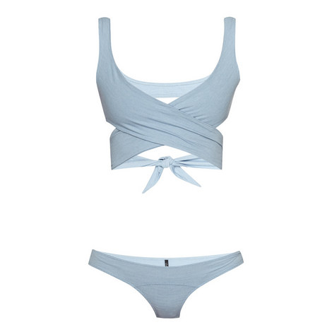 Marie Lou Chambray Bikini Set, ${color}