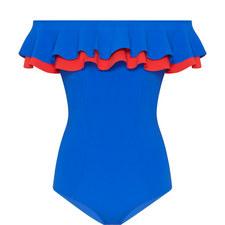 Mira Double Ruffle Swimsuit