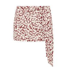 Lottie Leopard Print Skirt