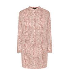 Lea Zebra Print Pyjama Top