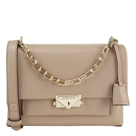 Cece Medium Chain Shoulder Bag, ${color}